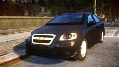 Chevrolet Aveo for GTA 4