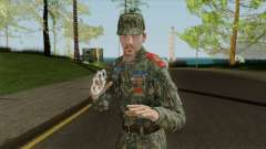 Vice-Sergeant scout cadet corps for GTA San Andreas
