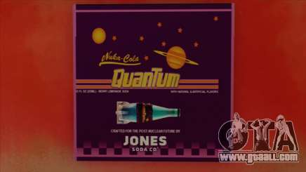 Nuka Cola Quantum from Fallout 4 AD wall in East for GTA San Andreas