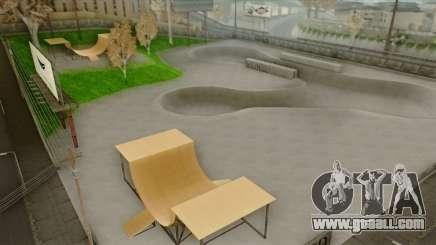Skateboarding Park (HD Textures) for GTA San Andreas