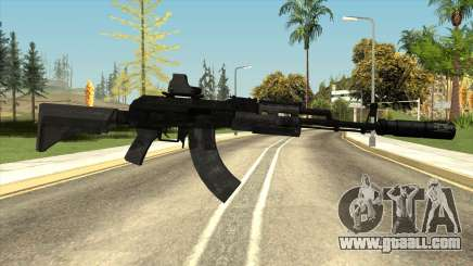 Black AK-47 for GTA San Andreas