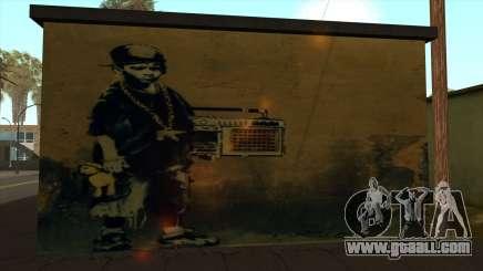 Graffiti Groove for GTA San Andreas