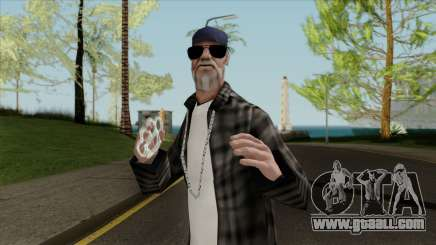 Gangsta Homeless for GTA San Andreas