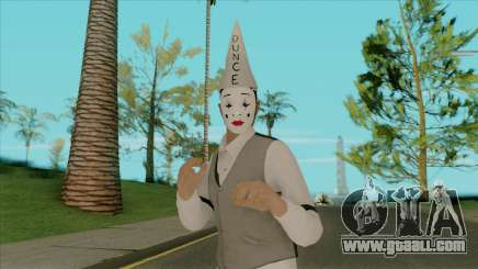 Mime Face for GTA San Andreas