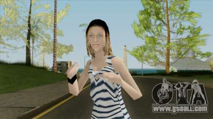 The girl in the vest for GTA San Andreas
