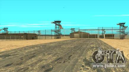 Area 51 with GTA 5 textures for GTA San Andreas
