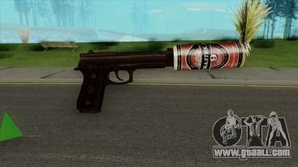 Desert Eagle BALTIKA Edition for GTA San Andreas