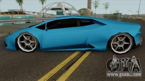 Lamborghini Huracan LQ for GTA San Andreas
