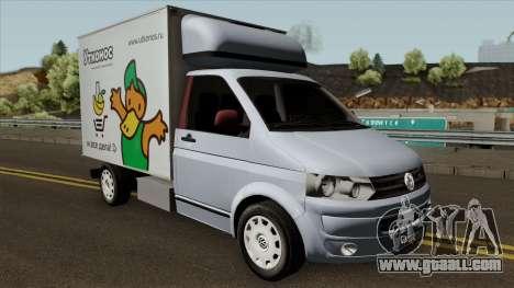 Volkswagen Transporter T5 Box for GTA San Andreas inner view