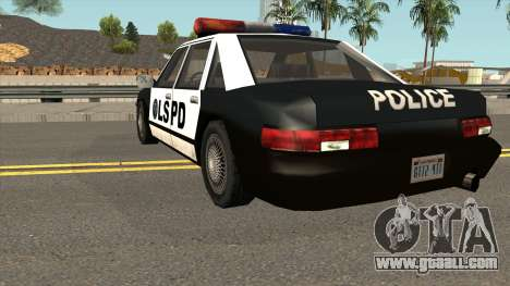 Echo Police SA Style for GTA San Andreas