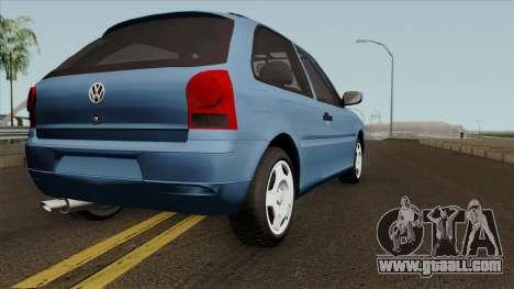 Volkswagen Gol Power for GTA San Andreas