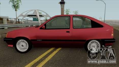 Opel Kadett E for GTA San Andreas left view