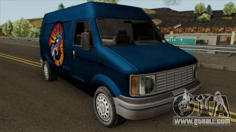 Toyz Van HD for GTA San Andreas