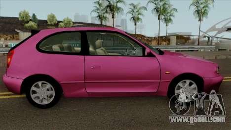 Toyota Corolla G6 Compact e110 for GTA San Andreas back view