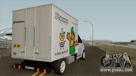 Volkswagen Transporter T5 Box for GTA San Andreas right view