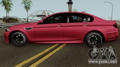 BMW M5 F10 2012 HAMANN for GTA San Andreas