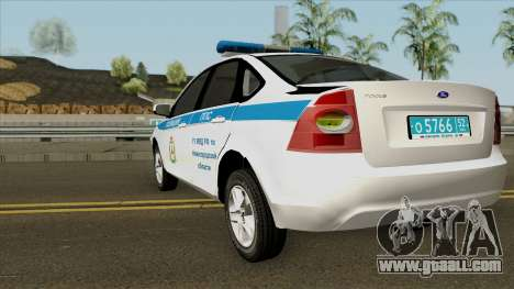 Ford Focus 2009 Police for GTA San Andreas