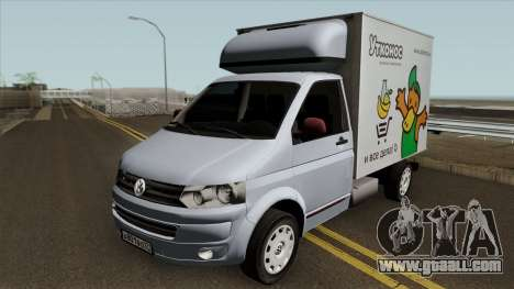 Volkswagen Transporter T5 Box for GTA San Andreas