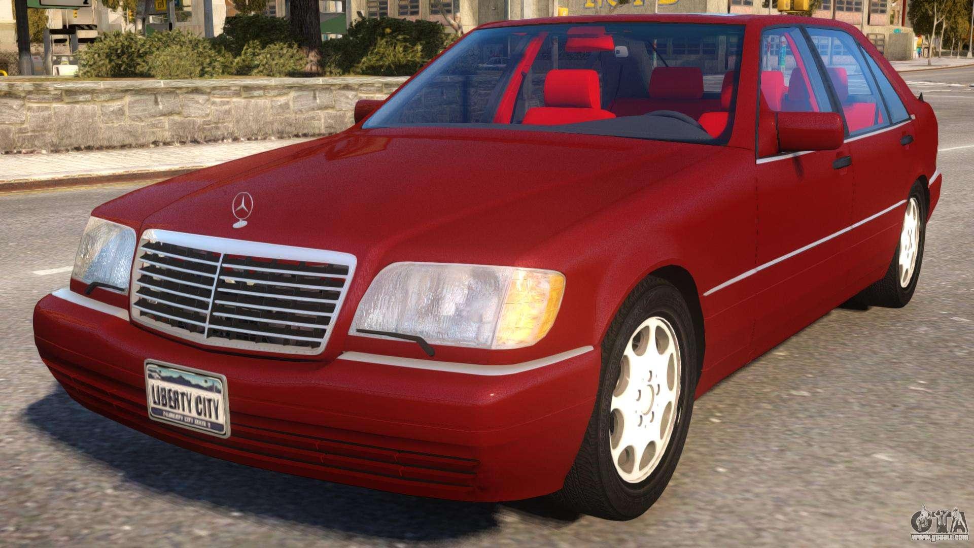 Mercedes benz s600l w140 for gta 4 for Mercedes benz s600l