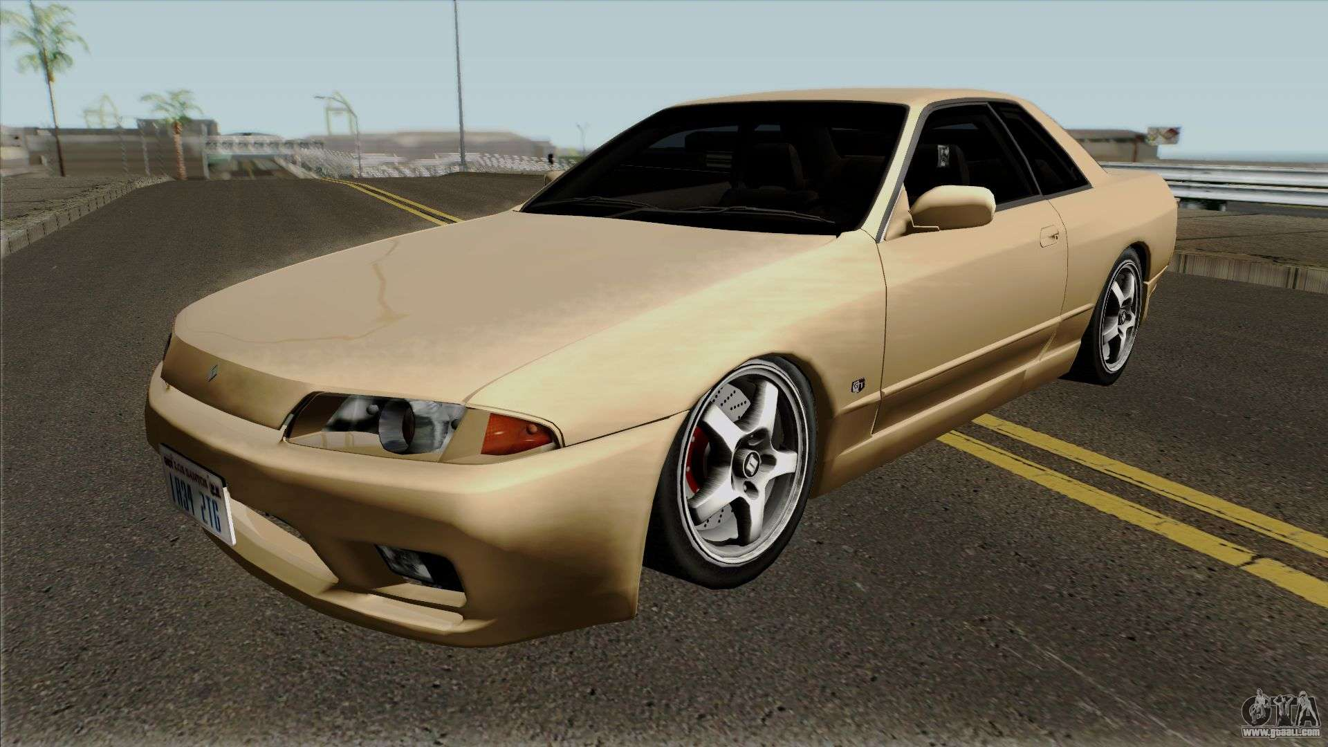 nissan skyline r32 gts t for gta san andreas. Black Bedroom Furniture Sets. Home Design Ideas