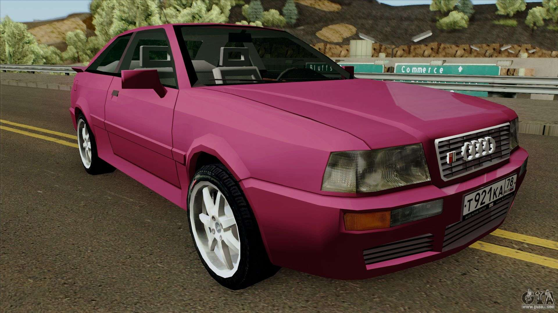 audi s2 2 2 v6 for gta san andreas. Black Bedroom Furniture Sets. Home Design Ideas
