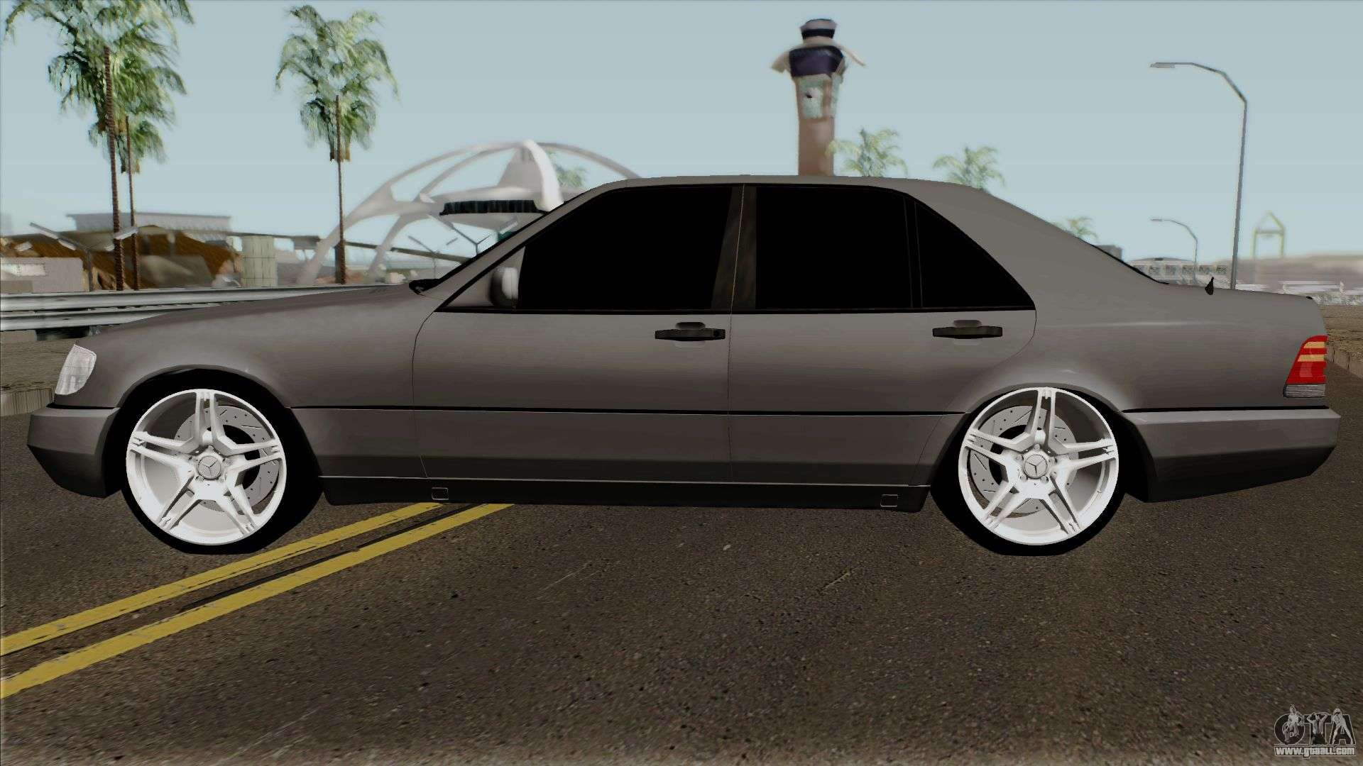 Mercedes benz w140 400se 1992 for gta san andreas for Mercedes benz 400 se