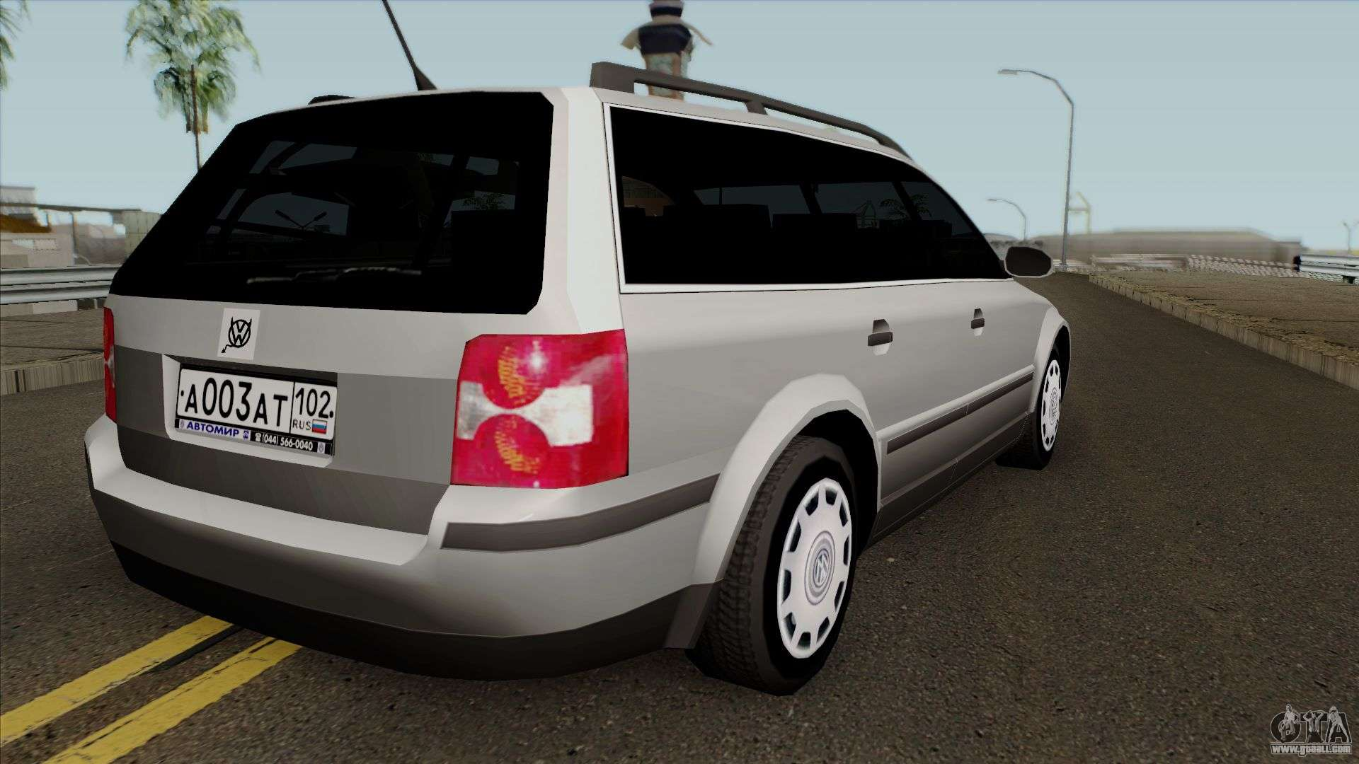 volkswagen passat b5 wagon for gta san andreas. Black Bedroom Furniture Sets. Home Design Ideas