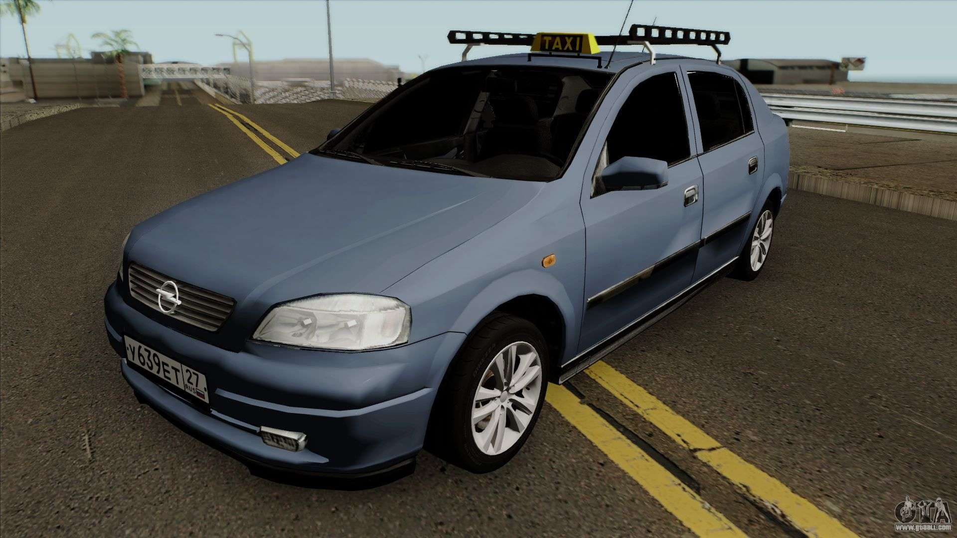 opel astra g 1999 taxi for gta san andreas. Black Bedroom Furniture Sets. Home Design Ideas