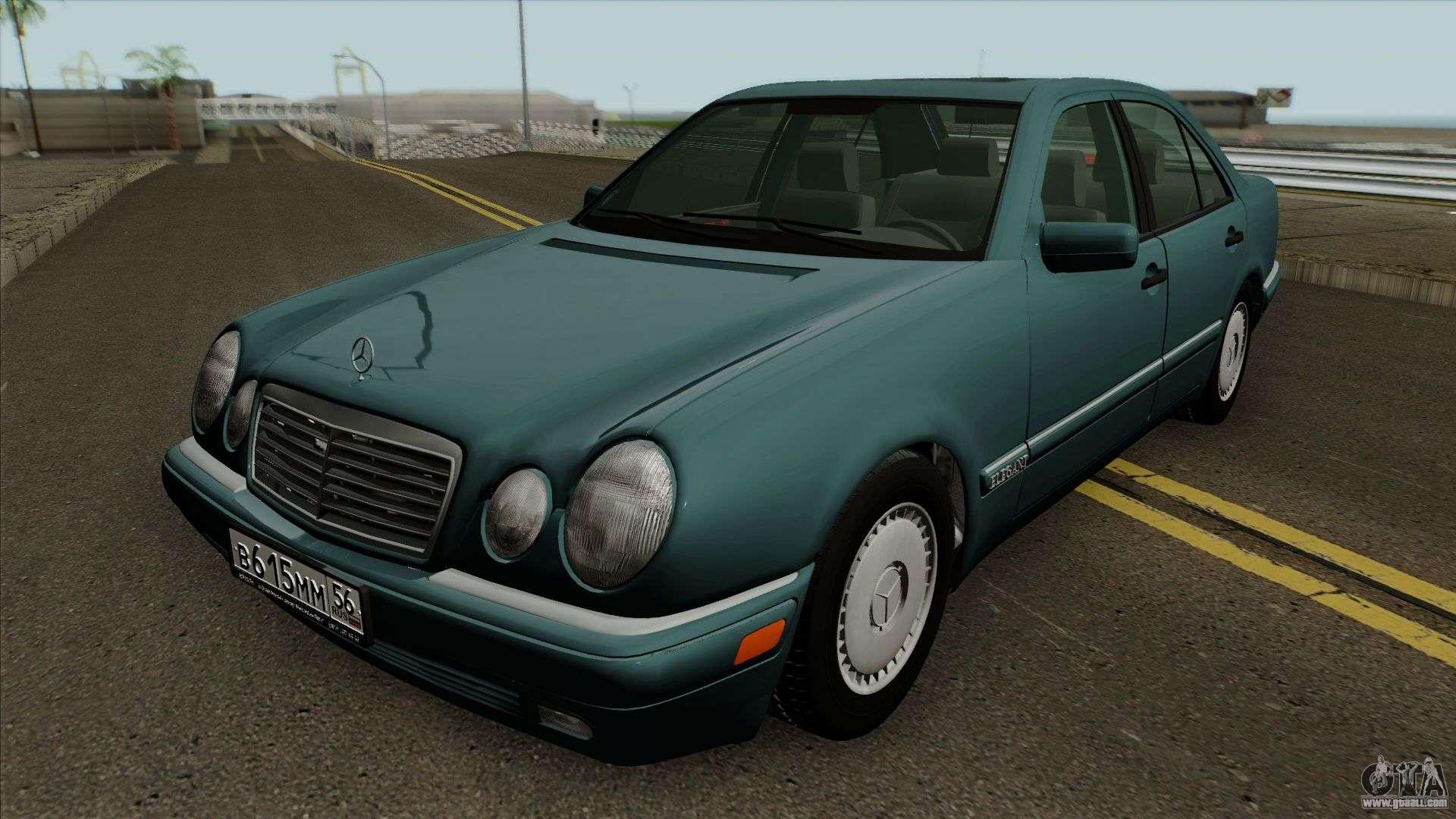 Mercedes benz e klasse w210 e200 cdi for gta san andreas for Mercedes benz e klasse