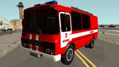 PAZ-3205 Fire Protection for GTA San Andreas