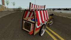 Indonesian Flag Seller Cart for GTA San Andreas