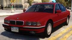 BMW 750 iL e38 for GTA 4