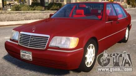 Mercedes-Benz S600L W140 for GTA 4