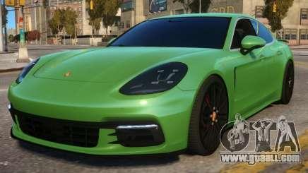 Porsche Panamera for GTA 4