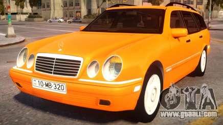 Mercedes-Benz W210 v2.0 for GTA 4