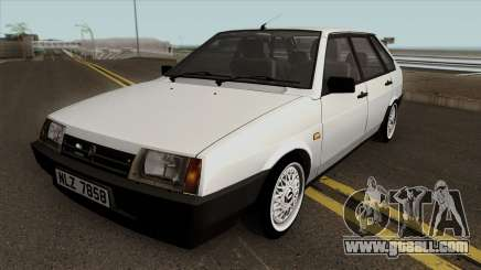 VAZ 2109 oceanic Whitetip for GTA San Andreas