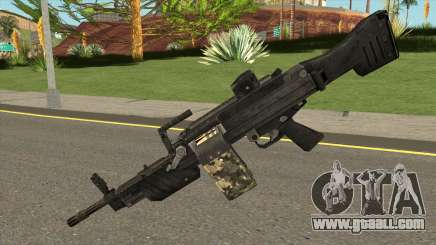 MG 4 from Warface for GTA San Andreas