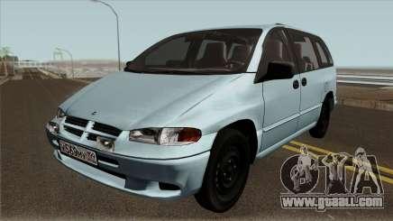 Dodge Caravan 1996 for GTA San Andreas
