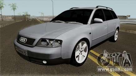Audi A6 C5 Avant 3.0 V8 for GTA San Andreas