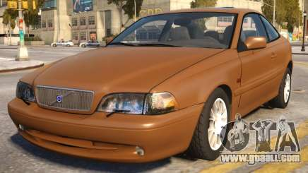 Volvo C70 1999 for GTA 4