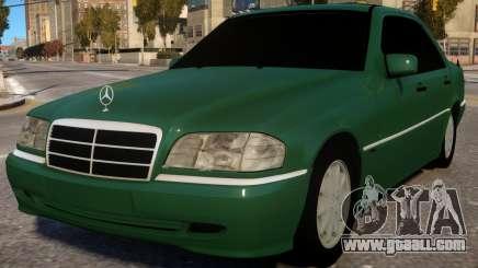 Mercedes-Benz C180 W202 for GTA 4