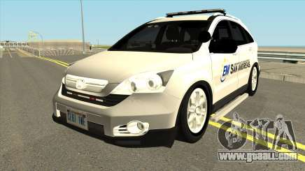 Honda CRV Emergency Management 2011 for GTA San Andreas