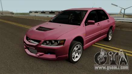 Mitsubishi Lancer Evo IX MR 2006 for GTA San Andreas