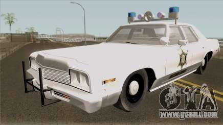 Dodge Monaco Hazzard County Sheriff for GTA San Andreas