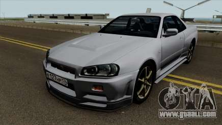 Nissan Skyline R34 0.1 for GTA San Andreas