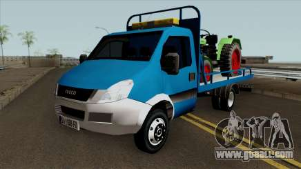 Iveco Daily Mk4 Abschleppwagen for GTA San Andreas