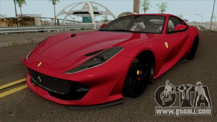 Ferrari 812 Superfast 2017 for GTA San Andreas