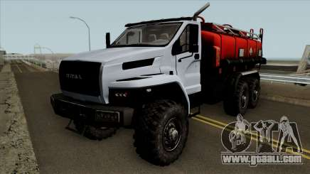 Ural Fuel Truck Next for GTA San Andreas