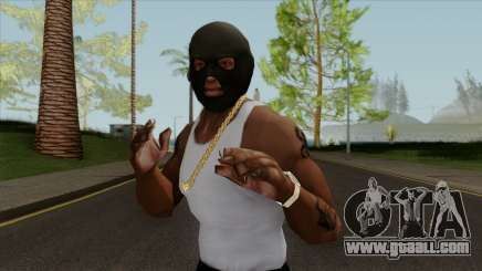 GTA V Balaclava For CJ for GTA San Andreas