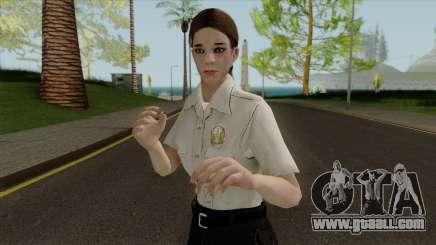 Police girl HD for GTA San Andreas
